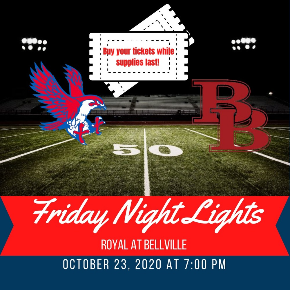 ​Friday Night Lights at Bellville on 10/23/2020! Buy Your Tickets Today! ​​​
