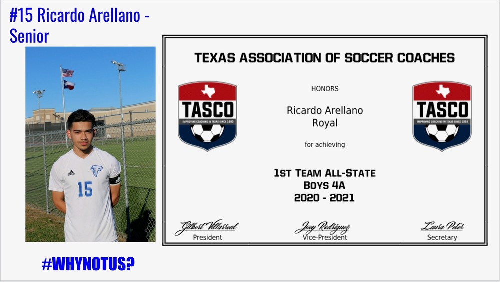 Men's Soccer All-State Selections