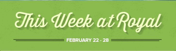 Falcon Week at a Glance: February 22 - 28
