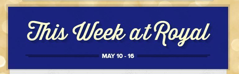 Week at a Glance: May 10 - 16