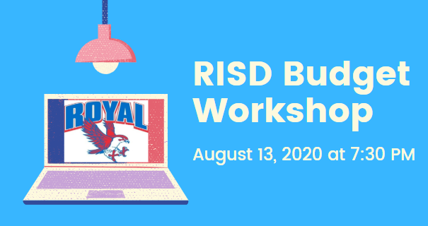 8.13.2020 RISD BUDGET WORKSHOP: NOTICE TO THE PUBLIC OF TELEPHONE OR VIDEO CONFERENCING