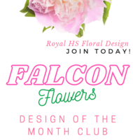 RHS Floral Design: Falcon Flowers Design of the Month Club