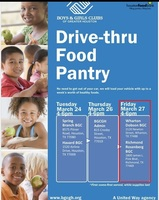 Drive-Thru Food Pantry