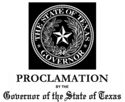 Texas State of Disaster Declaration