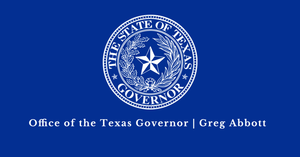 Announcement from Texas Governor Greg Abbott