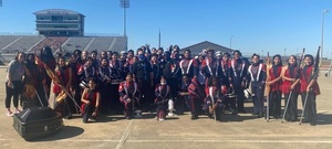 Royal Marching Sound Machine Receives Excellent Ratings at UIL Region 27 Marching Contest