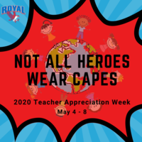 Teacher Appreciation Week Starts Tomorrow! Submit Your Messages of Appreciation by 5/6/2020!