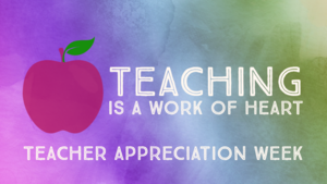 Happy Teacher Appreciation Week from Dr. Guzman!