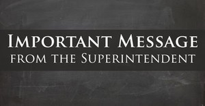 4.13.2020 Community Message from the Superintendent's Office / Mensaje para la comunidad de la oficina del superintendente