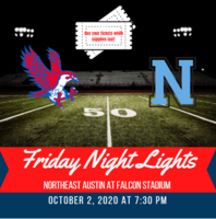 Friday Night Lights at Falcon Stadium on 10/2/2020! Buy Your Tickets Today!