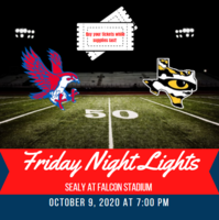 Friday Night Lights at Falcon Stadium on 10/9/2020! Buy Your Tickets Today!