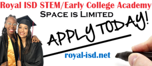 Potential STEM/ECHS Students - Apply Today!​​