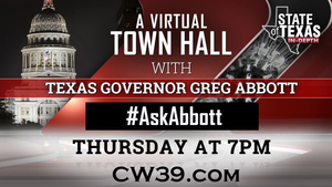 Virtual Town Hall with Governor Abbott