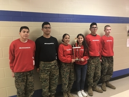Royal MJROTC Marksmanship Team Hits Third Place
