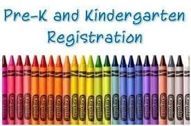 Pre-K and Kinder Early Registration Begins April 20, 2020