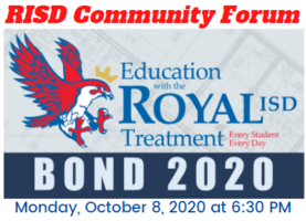 10.8.2020 RISD COMMUNITY FORUM: NOTICE TO THE PUBLIC OF TELEPHONE OR VIDEO CONFERENCING