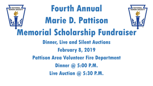 4th Annual Marie D. Pattison Memorial Scholarship Fundraiser