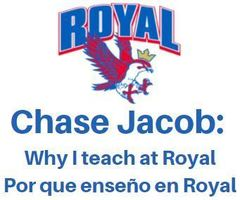 Chase Jacob: Why I Teach at Royal