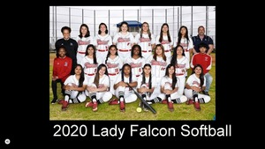 Looking Back: 2019-2020 Spotlight on Falcon Softball!
