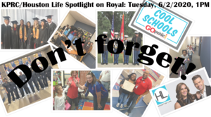 Join us at 1pm to watch a spotlight on Royal ISD!