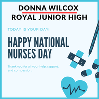 Celebrating Donna Wilcox, Junior High School Nurse​