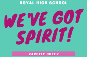 Pass the Pom: Introducing the 2020-2021 Royal Varsity Cheerleaders!