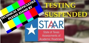 UPDATE: STAAR Test Suspended Due to Technical Difficulties