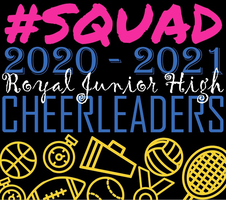 Introducing the 2020-2021 Royal Junior High Cheerleaders!