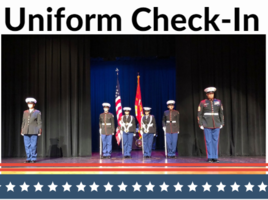 ROTC Cadets: 6/23 Uniform Check-In