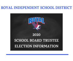 November 3, 2020 School Board Elections