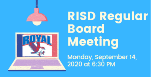 9.14.2020 RISD REGULAR BOARD MEETING: NOTICE TO THE PUBLIC OF TELEPHONE OR VIDEO CONFERENCING