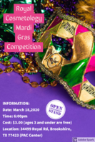 Royal Cosmetology Mardi Gras Competition