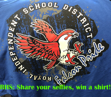 RHS Students: Post a Selfie, Win a Tshirt