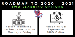 IMPORTANT ANNOUNCEMENT: Select your student's 2020-2021 learning option today!