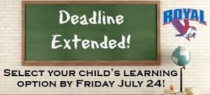 ​  Learning option selection deadline extended for RISD parents
