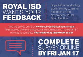 Royal ISD Bond Survey