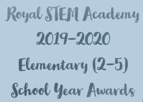 Celebrating 2019-2020 STEM Academy Awards