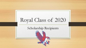 More Class of 2020 Scholarship Announcements!