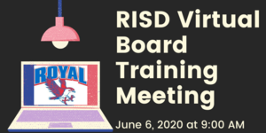 6.6.2020 RISD BOARD TRAINING MEETING: NOTICE TO THE PUBLIC OF TELEPHONE OR VIDEO CONFERENCING