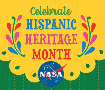 Celebrating Hispanic Heritage Month 2020: NASA Celebrates Hispanic Heritage Month 2020. Learn more about contributions ranging from  astronauts to communications directors, researchers, engineers, medical professionals and much more. https://go.nasa.gov/33bYz9v