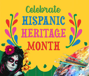 Celebrate artistic contributions during National Hispanic Heritage Month! Visit https://s.si.edu/30odHi9, https://bit.ly/30oZAsY, and  https://bit.ly/2GqX5zr to explore. ¡Celebra con nosotros este Mes de la Herencia Hispana!