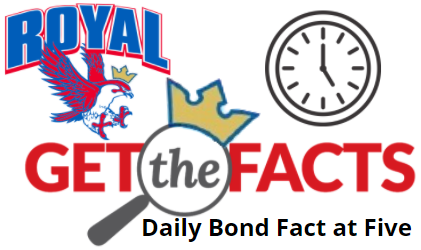 10/14/2020 Bond Facts at Five: Taxes will not change for Royal ISD residents regardless of whether the bond is approved.  Visit  https://5il.co/m473 to view the tax impact as well as the tax rate over the last several years. Early voting ends October 30! Your vote is your voice!