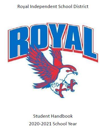 The 2020-2021 Student Handbook is available at https://bit.ly/3owf48W. It is also on each campus page under Parents & Students. Have a great day, Falcons!