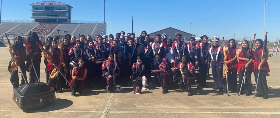 Congratulations again to the Royal Marching Sound Machine for receiving 2s from all three judges at Tuesday's UIL Region 27 Marching Contest! Visit https://youtu.be/WUC_ibgD1Sk to watch a video of their performance.