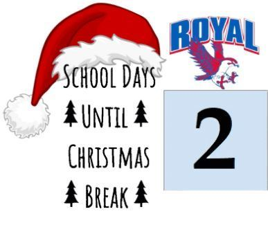 Christmas break countdown