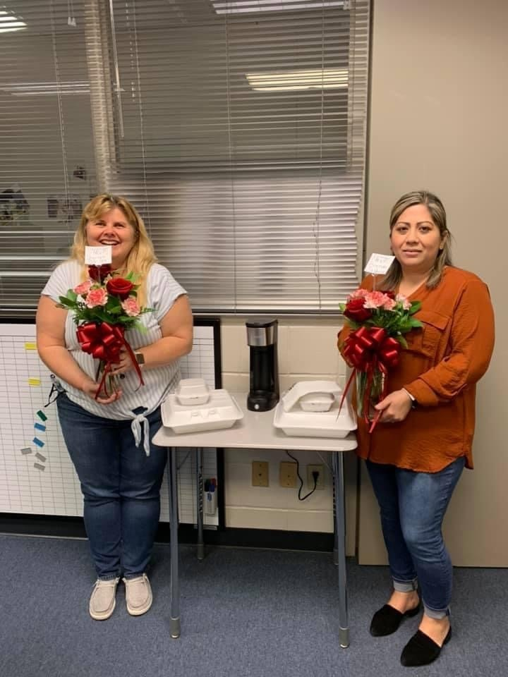 Congratulations to our December STEM staff MVP winners: Mrs. Sherlyn Baxley & Mrs. Brenda Saldaña! GREAT things are happening at STEM and it is because of each of you!