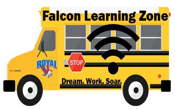 Reminder! Royal ISD is still offering the Falcon Learning Zone WiFi buses at locations around the district. Please visit https://5il.co/of3g for the schedule.