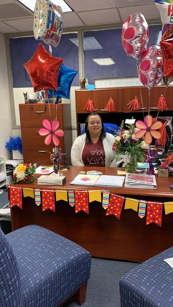 Happy birthday to STEM Academy Principal Glover! Have a wonderful day!