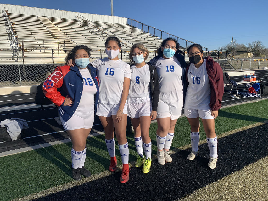 The Lady Falcons Soccer team had three tough losses but played hard this past weekend in the Giddings Ironhorse Tournament. Jessica Aguilar won a spike award. Deysi Rivera and Katelyn Rodriguez were named to the all tournament team. District play starts on 1/22 against Columbus.