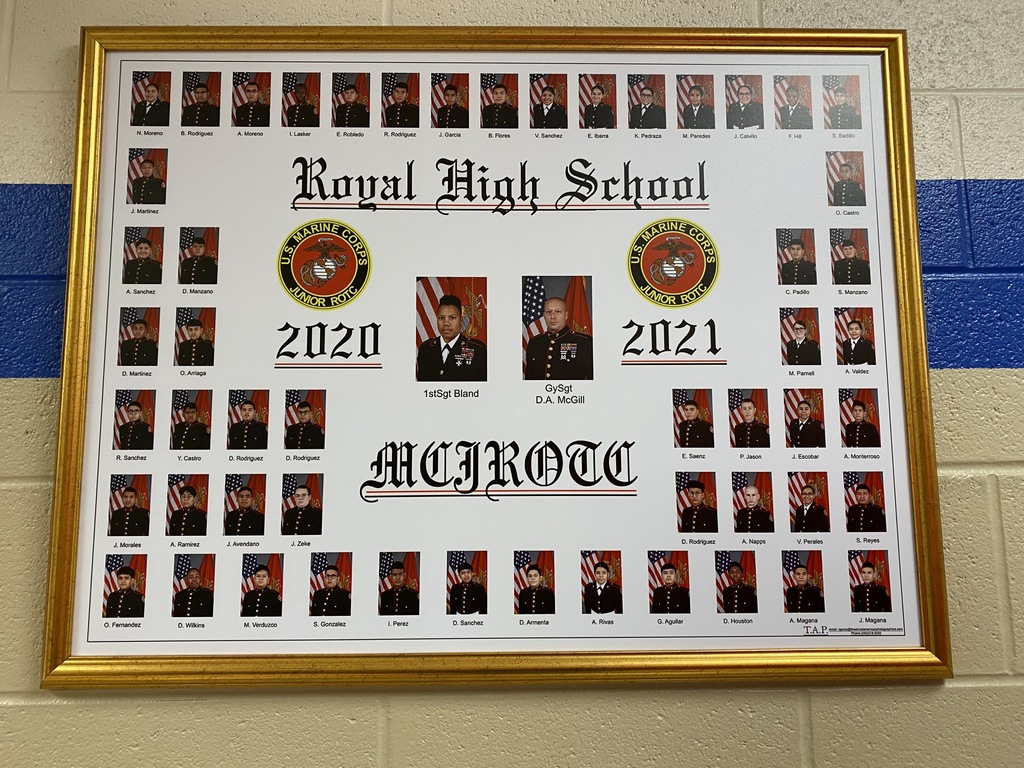We are excited to share the 2020-2021 composite photo of our MJROTC cadets!